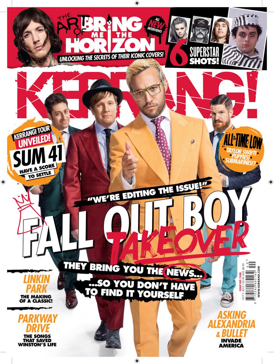 Fall Out Boy – Kerrang! Magazine