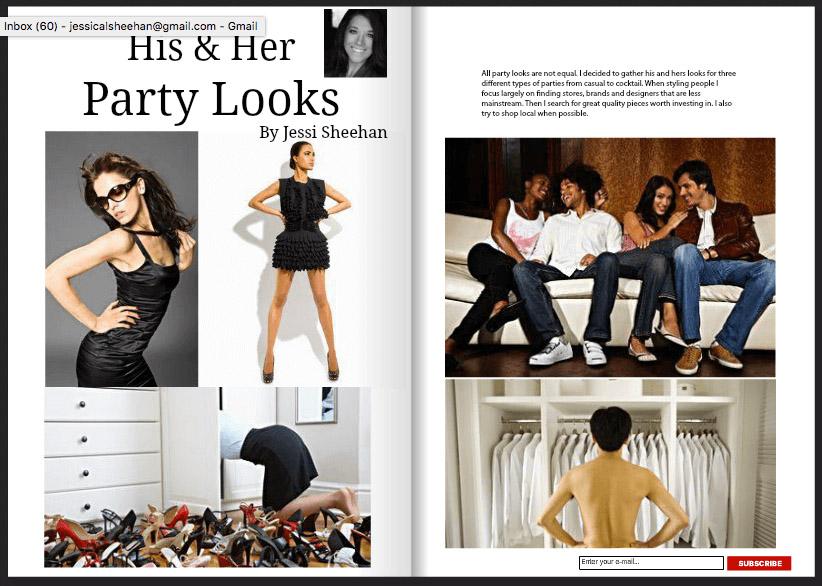 Fete Lifestyle Magazine // Contributor, pgs 56-63