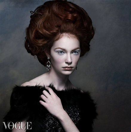 """Ice Queen"" Featured on Vogue Italia"