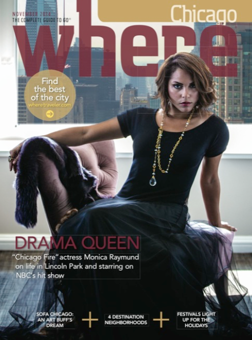 Interview For Where Chicago Magazine